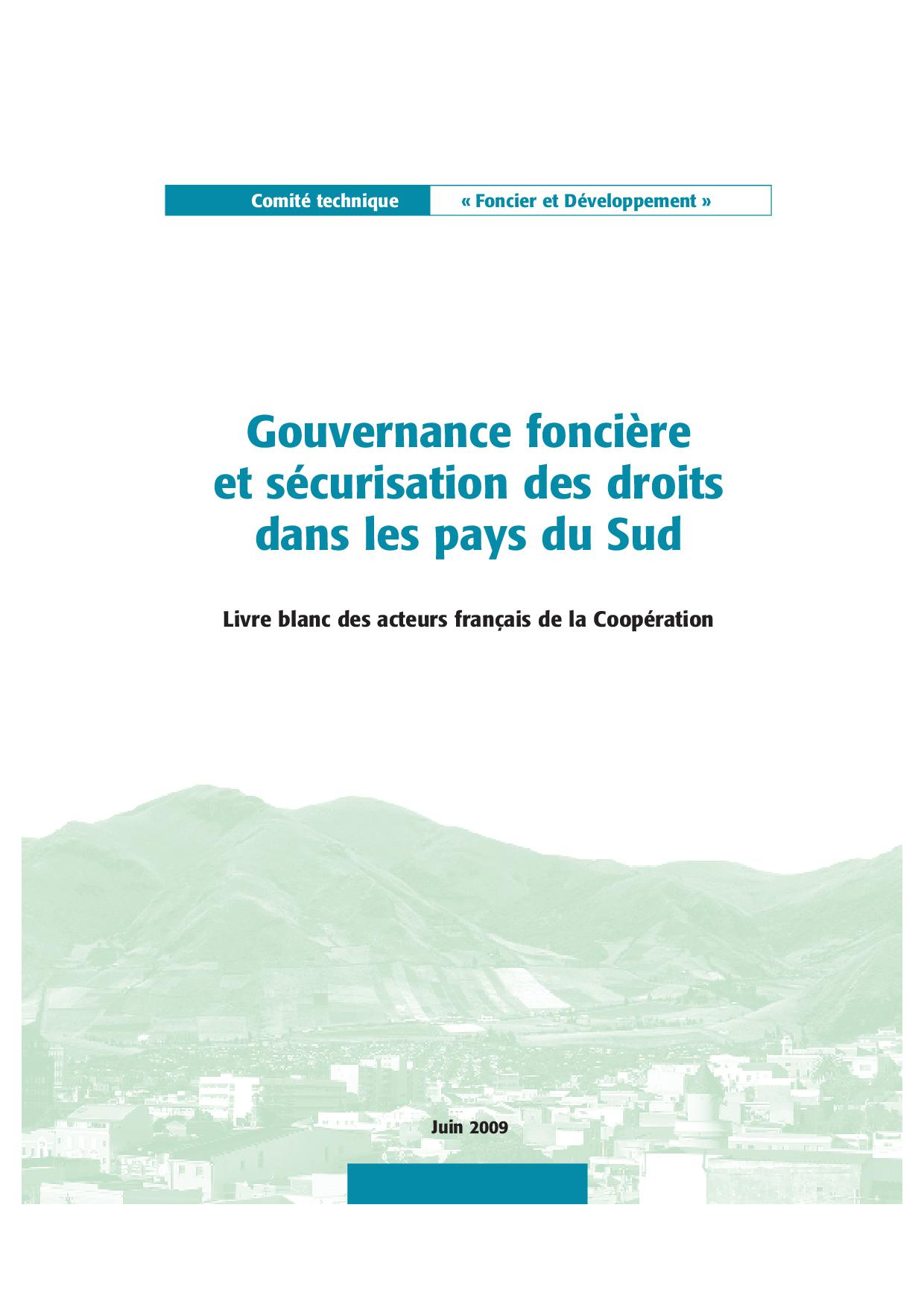 gouvernance-fonciere-et-securisation-des-droits-dans-les-pays-du-sud[1]